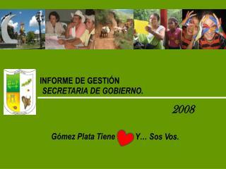 INFORME DE GESTI�N