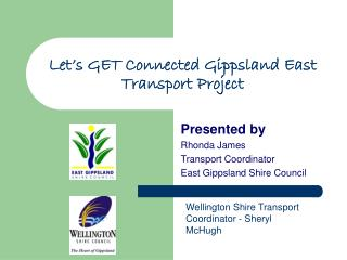 Let's GET Connected Gippsland East Transport Project