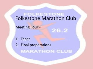 Folkestone Marathon Club