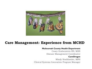 Care Management: Experience from MCHD