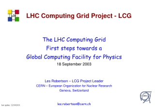 SPI  Software Process  Infrastructure for LCG