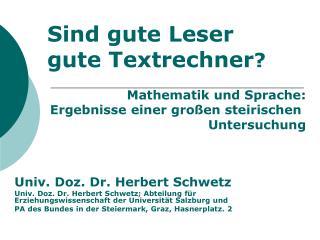 AllgLesen, mathLesen, mathLeseforschung