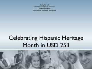 Celebrating Hispanic Heritage Month in USD 253