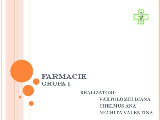 FARMACIE GRUPA I
