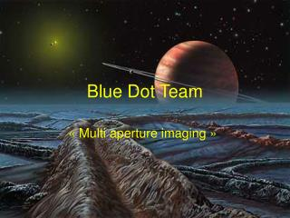 Blue Dot Team