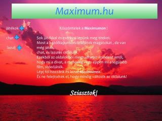 Maximum.hu