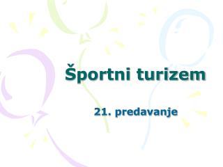 Športni turizem