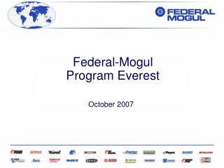 Federal-Mogul  Program Everest