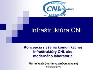 Infraštruktúra CNL