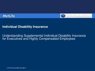 Individual Disability Insurance   Understanding Supplemental Individual Disability Insurance  for Executives and Highly