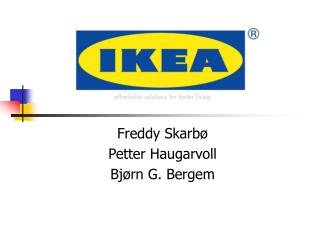 Freddy Skarb  Petter Haugarvoll Bj rn G. Bergem