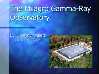 The Milagro Gamma-Ray Observatory