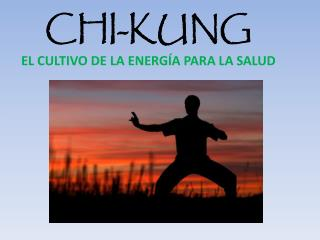 CHI-KUNG EL CULTIVO DE LA ENERG�A PARA LA SALUD