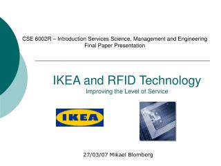 IKEA and RFID Technology Improving the Level of Service