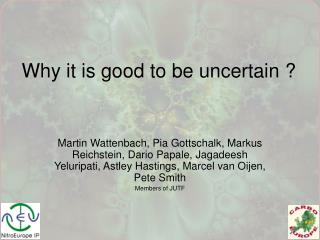 Why it is good to be uncertain ?
