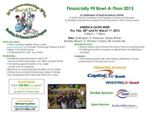 Financially Fit Bowl-A-Thon 2013