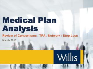Medical Plan Analysis