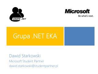 Grupa .NET EKA