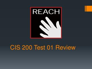 CIS 200 Test 01 Review