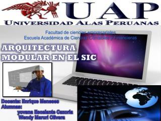 Facultad de ciencias empresariales Escuela Académica de Ciencias Contables y Financieras