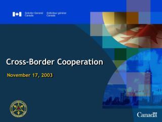 Cross-Border Cooperation