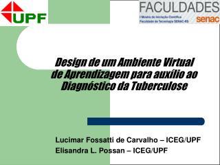 Design de um Ambiente Virtual de Aprendizagem para auxílio ao Diagnóstico da Tuberculose