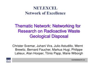 NET.EXCEL Network of Excellence