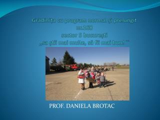 PROF. DANIELA BROTAC