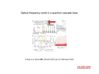 A Hugi  et al. Nature 492 ,  229-233  (2012) doi:10.1038/nature11620