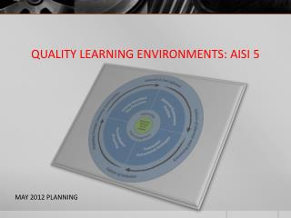 QUALITY LEARNING ENVIRONMENTS: AISI 5