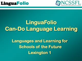LinguaFolio Can-Do Language Learning