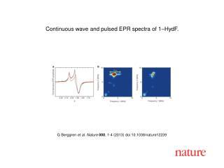 G Berggren  et al. Nature  000 , 1-4 (2013)  doi:10.1038/nature12239