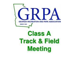 Class A  Track & Field Meeting