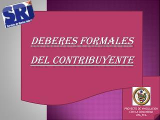PROYECTO DE VINCULACION CON LA COMUNIDAD UTA_FCA