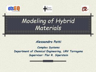 Modeling of Hybrid Materials