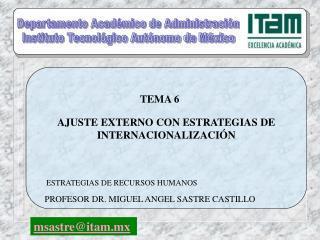 AJUSTE EXTERNO CON ESTRATEGIAS DE INTERNACIONALIZACIÓN
