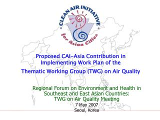 Sustainable Urban Mobility in Asia A CAI-Asia Program