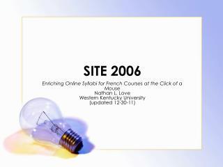 SITE 2006