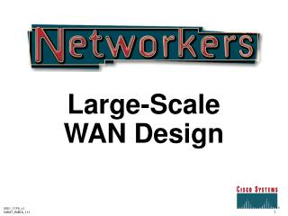 Large-Scale  WAN Design