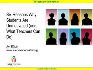 Motivating Students: Agenda…
