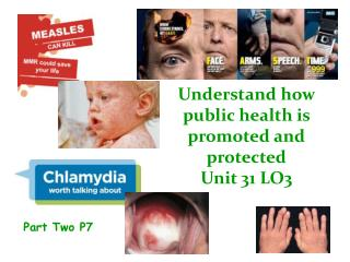 Understand how public health is promoted and protected Unit 31 LO3