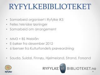 RYFYLKEBIBLIOTEKET