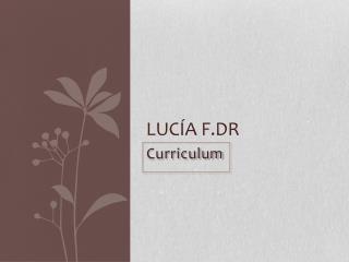 Lucía  F.dR