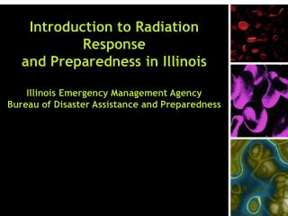 Introduction to Radiation Response and Preparedness in Illinois   Illinois Emergency Management Agency Bureau of Disaste