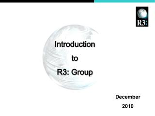 Introduction  to  R3: Group