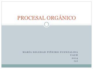 PROCESAL ORGÁNICO
