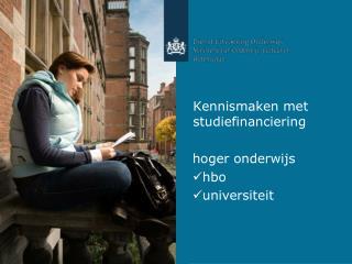 Kennismaken met studiefinanciering