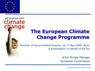 The European Climate Change Programme