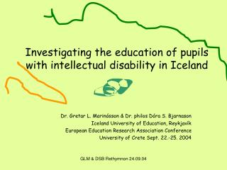 Investigating the education of pupils with intellectual disability in Iceland