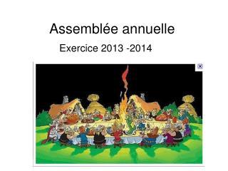 Assemblée annuelle